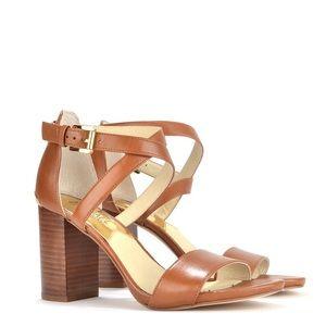 MICHAEL KORS Nadia Cross Strap Sandal 7.5 ($150)